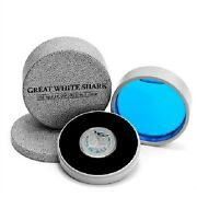 2012 New Zealand Mint Fine Silver 99.99 1oz Silver Niue Coin Great White Shark