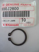 Oem Kawasaki Circlip-type C, 28mm, 480j2800 For Police Kz1000 And Other Bikes