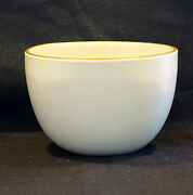 Heath Ceramics Deep Serving Bowl Off White & Brown MADE IN USA