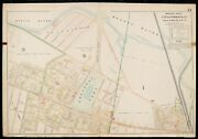 1900 Middlesex County, Ma, Somerville, Melrose St To Broadway Atlas Map