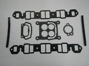 1965 1966 1967 300 Buick Intake Manifold Gaskets Complete Set 65 66 67 Cast Iron