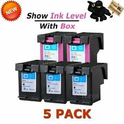 5pack Ink Combo For Hp 61xl Envy 4500 4501 4502 4503 4504 4505 5530 5539 Printer