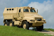 Military Caiman Mrap Truck Hood Nos Military Truck Parts
