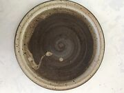 Mid Century Modern Studio Pottery Plater, Plate, Serving Plate