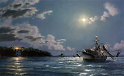 John Stobart Print - Haig Point A View Of The Lighthouse
