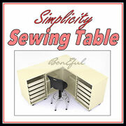 Boneful Table Machine Serger Quilt Embroidery Craft Shelf Fabric Sewing Quilt Us