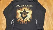In Flames Reroute To Remain Long Sleeve Two-sided Xl Tour Shirt