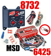 Msd Ignition 6425 Digital 6al Ignition Control With Rev Control With 8732 2-step