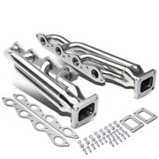 T4 Turbo Exhaust Manifolds Header For 66-95 Chevy/gmc Bbc 366 396 402 427 454