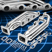 For 66-95 Chevy/gmc Big Block Bbc Stainless Steel 3 T4 Turbo Manifolds