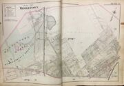 Orig 1903 Orange County Ny Middletown State Homoeopathic Hospital Plat Atlas Map
