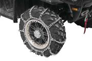 2009-2014 Yamaha 700 Grizzly - Front Snow Chains 2 Chains - Tire Size 25x8x12