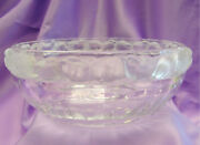 Elegant Vintage French Lalique Mesanges Crystal Bowl Etched Small Birds Rare