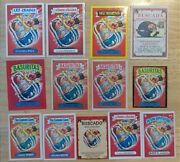 13 Foreign Creamed Keith/punchy Perry Collection/rainbow Garbage Pail Kids Chile