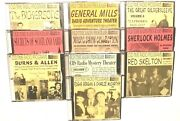 Hundreds Of Old Time Radio Shows - 10 Mp3 Dvd's Package 1 W/burns And Allen Etc