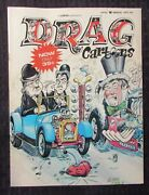 1972 March Drag Cartoons Magazine Fn- 5.5 Hot Rods / Cartoons / Laurel And Hardy