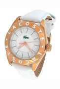 New Lacoste Mother-of-pearl Leather Ladies Watch 2000534