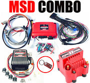 Msd Power Grid Ignition Combo 7730 Controller 7720 Ignition 8261 Hvc Coil New
