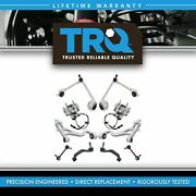 Trq 10 Pc Steering And Suspension Kit Control Arms Outer Tie Rods Sway Bar Links
