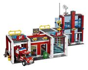 Retired Used Lego City Fire Sets 7208 7213 7206 And 7239 With Instructions