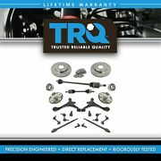 Trq 21 Piece Steering Suspension And Brake Kit Control Arms Axles Tie Rods Brakes