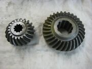 Volvo Penta Factory Nos Lower Gear Set 270 280 And 290a Drive 832624 1.611 Ratio