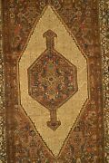7and039 X 4and039 Classic Bibikabad Antique Handmade Rug Ca.1870 - Free Shipping