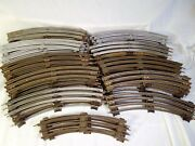 Lot Of 51 Vtg Lionel Train Tracks O Scale 3 Rail 48 11 And 3 10 Curved Pieces