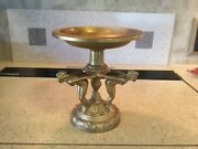 ANTIQUE ART DECO STAND WITH 3 NUDE GIRLS MADE BY AMW NEWARK N.J. FROM THE 1920