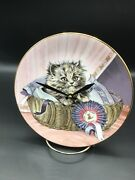 First Prize Cutest Kitty Cat 8 1/4 Inch Clock