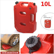 10 Litre Fuel Tank Jerry Cans Spare Plastic Petrol Tanks Motorcycle Atv Jerrycan