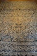 9and039x13and039 1890 Handmade Knotted Genuine Antique Rug - Free Shipping