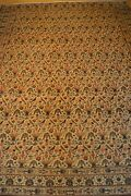 8and039x11and039 Ghum Handmade Knotted Genuine Antique Rug - Mint Huge