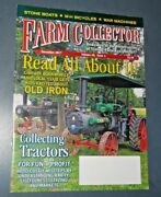 Farm Collector Magazine Nov 2017 War Machines M-h Bicycles Stone Boats Old Iron