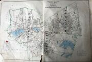 Original 1906 Middlesex County Ma Melrose Wakefield And Stoneham Plat Atlas Map