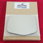 Mirror Glass + Adhesive For 11-13 Honda Odyssey Driver Side Replacement