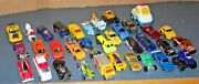 Vintage Lot 34 Various Diecast Toys Cars And Trucks Hot Wheels Matchbox