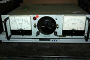 Vintage Hyperion Dc Electric Power Supply 6-60vdc 0-2a - Powers Up And Responds