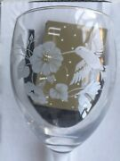 Hummingbird Crystal Goblets Avon Gift Collection French Crystal Wine Glasses