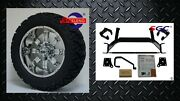 Ezgo Txt Electric Golf Cart 6 Lift Kit + 14 Tempest Wheels And 23 At Tires