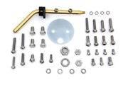 Indian 3-bolt Linkert Angled Choke Door Kit For Indian Chief 1933-52