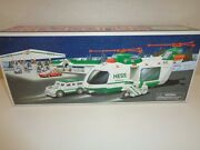 The Hess Toy Truck Helicopter Motorcycle Cruiser Limited Release 2001