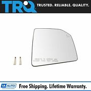 Trq Mirror Glass Heated Blind Spot Passenger Side Right Rh For Ford F150 Pickup