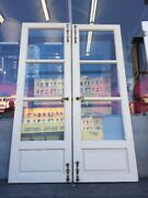 Spanish Colonial Style French Doors 86 X 28-3/4 Ea 57-1/2open