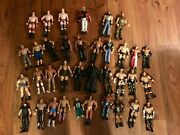 Wwe Action Figures With Wwe Raw Ring And Accessories
