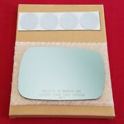 Mirror Glass + Adhesive For 07-12 Acura Mdx Passenger Side Replacement