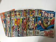 Avengers Comic Lot The Mighty Thor Lot Of 47 Comics 394-477 Vf Bagged
