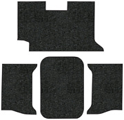 1962-1964 Chevy Impala Trunk Mat -loop  2dr Convertible In Carpet With Pad