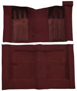 1969-1971 Ford Torino Gt Carpet -loop|2dr Hardtop Auto W/ 2 Maroon Inserts