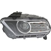 Headlight For 2013-2014 Ford Mustang Driver Side